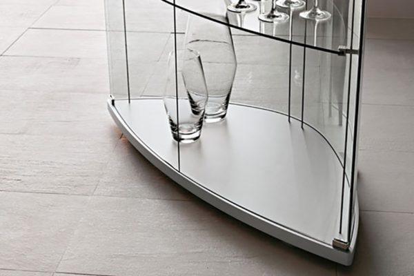 огънати стъкла за мебели
