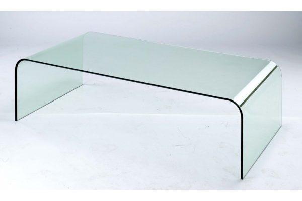 стъклена маса от огънато стъкло